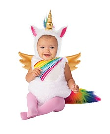 Toddler Girls and Boys Unicorn Deluxe Costume