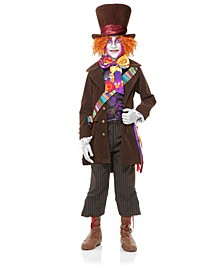 Big and Toddler Boys Mad Hatter Costume