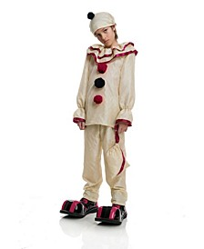 Big and Toddler Girls and Boys Horror Clown Costume