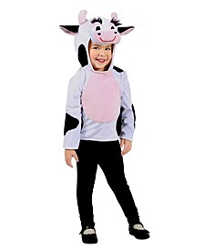 Big Girls Dylan the Cow Hoodie Costume