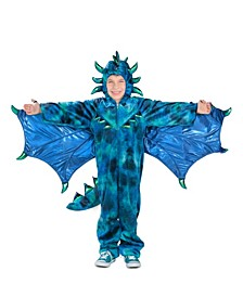 Big Girls and Boys Sully the Dragon Costume