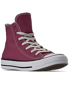 Women's Chuck Taylor All Star Renew High Top Casual Sneakers from Finish Line