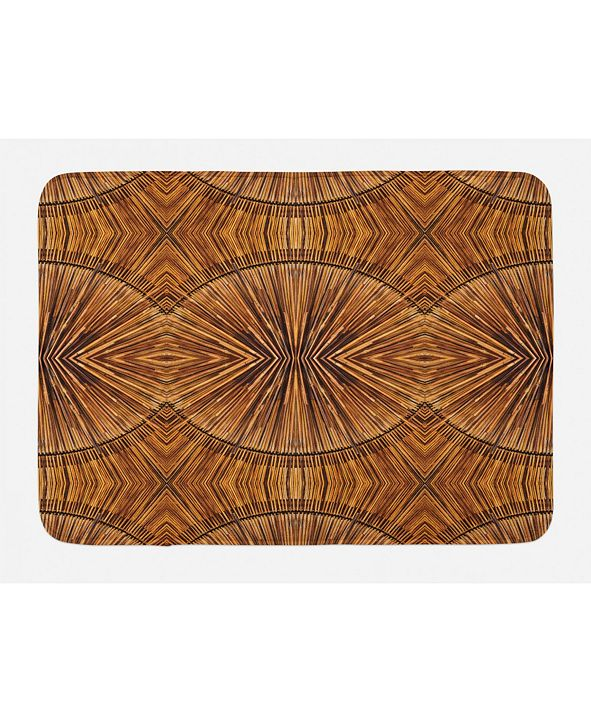 Ambesonne Tribal Bath Mat