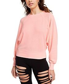 Juniors' Dolman-Sleeved Sweatshirt