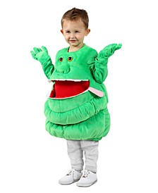 Baby Girls Feed Me Ghostbusters Slimer Costume