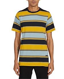 Men's Chromatic Striped Short Sleeve Knit Shirt