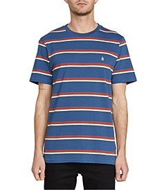 Men's Chasen Striped Short Sleeve Knit Shirt