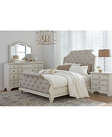 Trisha Yearwood Jasper County Dogwood Upholstered Bedroom Collection