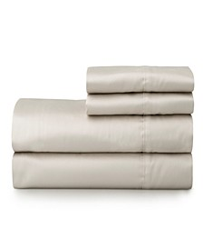 The Premium Cotton Sateen Full Sheet Set