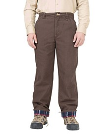 Men's Insulated Flannel Lined Carpenter Pant