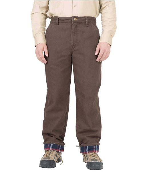 Mountain And Isles Men's Insulated Flannel Lined Carpenter Pant