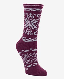 Women's Fairisle Boot Sock