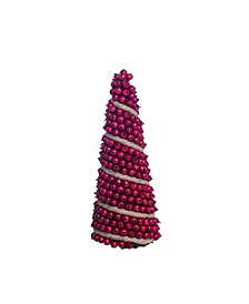 "Foam 13"" Red Christmas Berry Tree"