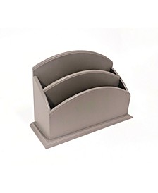 2 Compartment Mail and Stationary Organizer