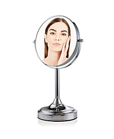 """Tabletop Dual Sided 7"""" Makeup Mirror with LED"""