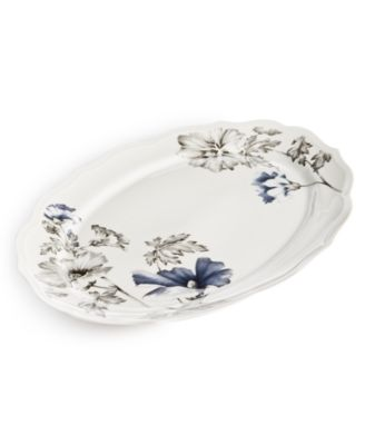 Classic Morning Glory Platter, Created For Macy's