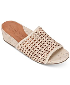 by Kenneth Cole Women's Gisele Wedge Slides