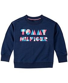 Toddler Girls Logo Sweatshirt