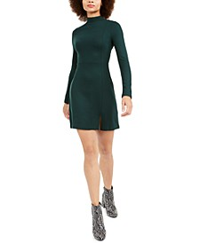 Lula Mock-Neck Dress
