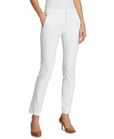 Petite Stretch Straight Pants