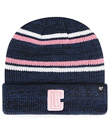 Los Angeles Clippers Marled Stripe Cuff Knit Hat