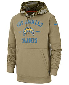 Men's Los Angeles Chargers Salute To Service Therma Hoodie