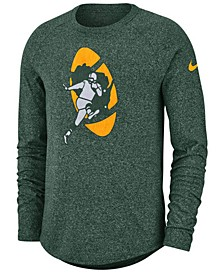 Men's Green Bay Packers Historic Marled Raglan T-Shirt