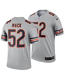 Men's Khalil Mack Chicago Bears Inverted Color Legend Jersey