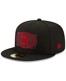 San Francisco 49ers Flag Flective 59FIFTY Cap