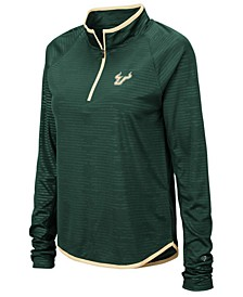 Women's South Florida Bulls Soulmate Quarter-Zip Pullover