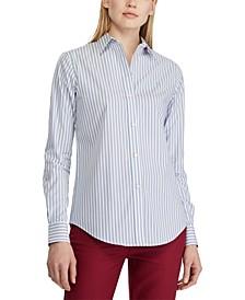 Petite Easy Care Stretch Cotton Shirt