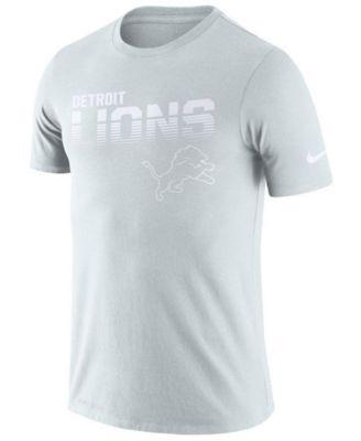 Detroit Lions T-Shirt Nike Men/'s NFL Dri-Fit Football Logo