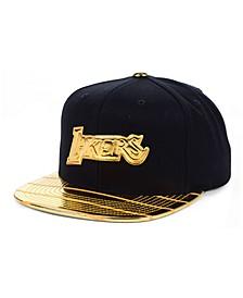 Los Angeles Lakers Black & Gold DNA Snapback Cap