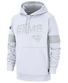 Men's Los Angeles Rams 100th Anniversary Sideline Line of Scrimmage Therma Hoodie