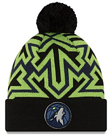 Minnesota Timberwolves Big Flake Pom Knit Hat