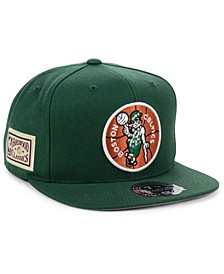 Boston Celtics Hardwood Classic Patch Fitted Cap
