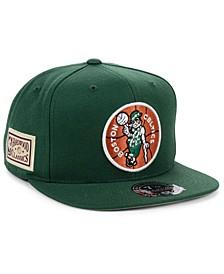 Boston Celtics Hardwood Classic Patch Fitted Cap