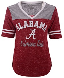 Women's Alabama Crimson Tide Mr Big V-neck T-Shirt