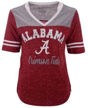 Women's Alabama Crimson Tide Mr Big V-neck T-Shirt