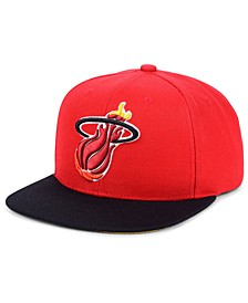 Miami Heat 2 Tone Classic Snapback Cap