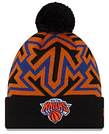 New York Knicks Big Flake Pom Knit Hat