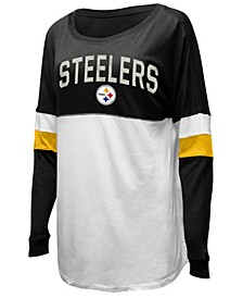 Women's Pittsburgh Steelers Boyfriend T-Shirt