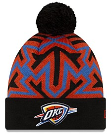 Oklahoma City Thunder Big Flake Pom Knit Hat