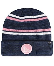 Golden State Warriors Marled Stripe Cuff Knit Hat