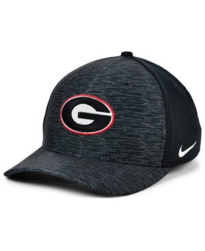 Nike Georgia Bulldogs Velocity Flex Stretch Fitted Cap