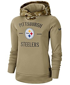 Women's Pittsburgh Steelers Salute To Service Therma Hoodie