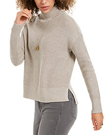 Style & Co Mockneck Sweater, Created For Macy's