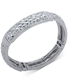 Basket Weave Textured Stretch Bracelet