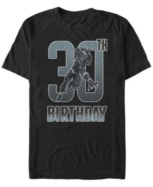 Fifth Sun Men's Marvel Black Panther 30th Birthday Short Sleeve T-Shirt