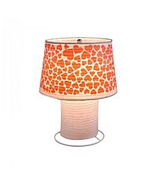 Heart Desk Lamp Paper Lantern